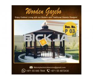 Gazebo | Arabian Gazebo Suppliers | Outdoor Gazebo in Abu Dhabi | Seating Area Wooden Gazebo