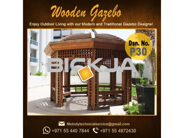 Gazebo | Arabian Gazebo Suppliers | Outdoor Gazebo in Abu Dhabi | Seating Area Wooden Gazebo - 2/4