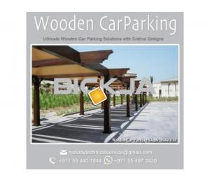 Wooden Car Parking Shade Suppliers | Car Parking in Abu Dhabi |