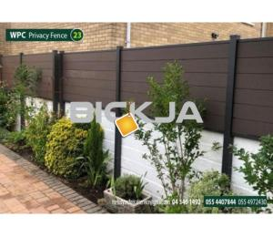 WPC Fence in Abu Dhabi | WCP Fence Suppliers in UAE | WPC Fence in Garden area