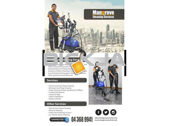 Deep/Steam Cleaning Services in DUBAI - 1/4