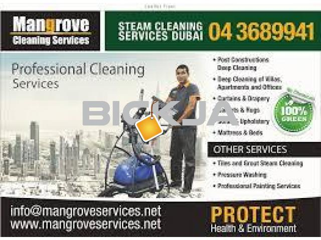 Carpet, Mattress, Sofa, Curtain Steam Cleaning Services - Sanitize - Dubai - 1/1