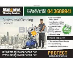 Villa, Apartment, Office Deep/Steam Cleaning (Move-in/out)-Sanitize-DXB